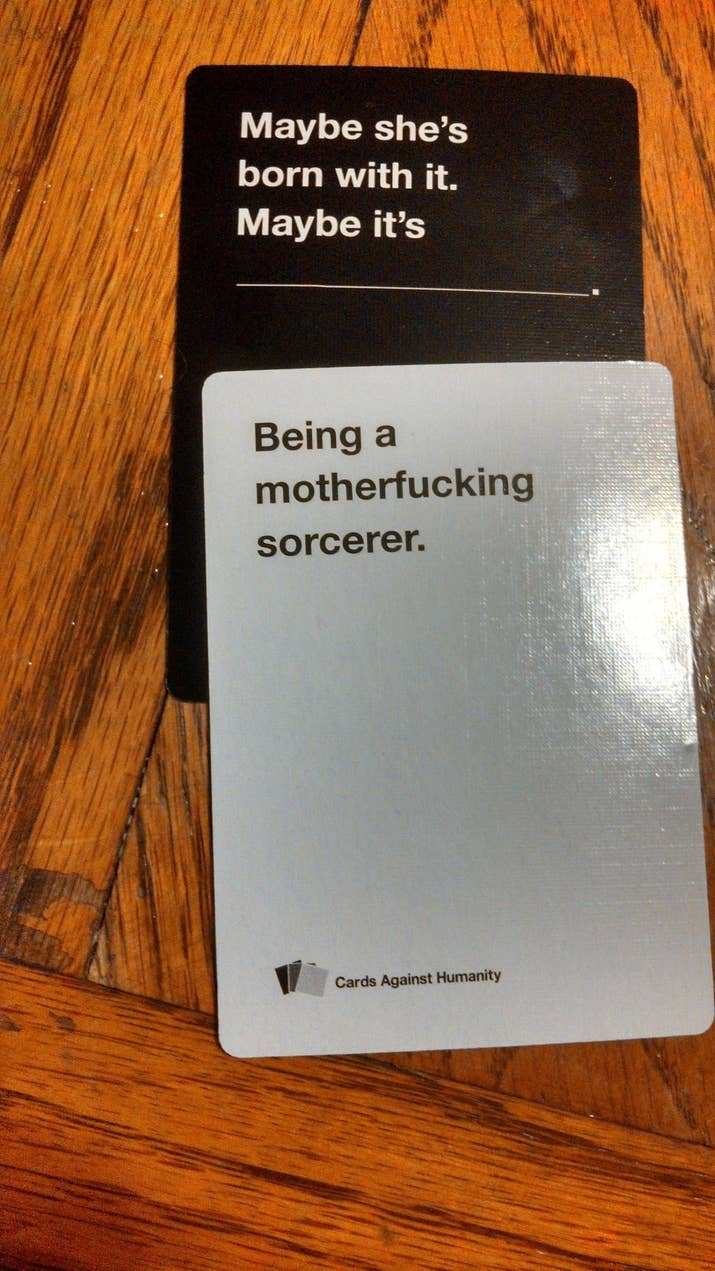 21 Hilarious Awkward And Painful Rounds Of Cards Against Humanity