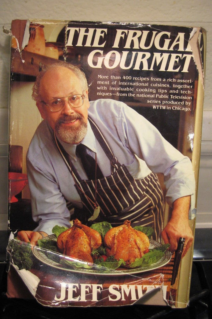 THE BOOK: Frugal Gourmet, 1999, by Jeff Smith.