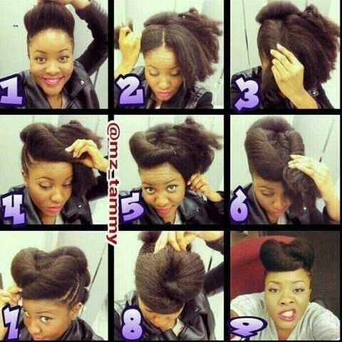 Pleasant 29 Awesome New Ways To Style Your Natural Hair Short Hairstyles For Black Women Fulllsitofus