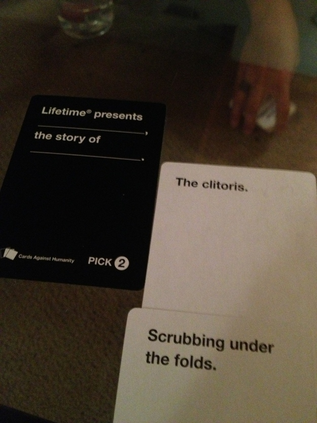 Image of: Combinations 13 This Lifetime Movie Buzzfeed 21 Hilarious Awkward And Painful Rounds Of Cards Against Humanity