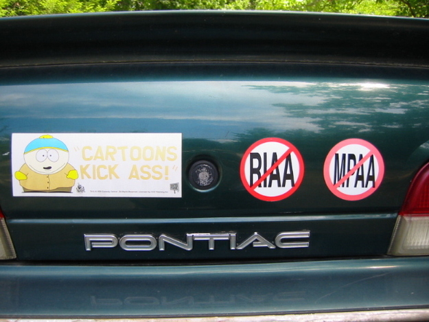 Put bumper stickers on your car.