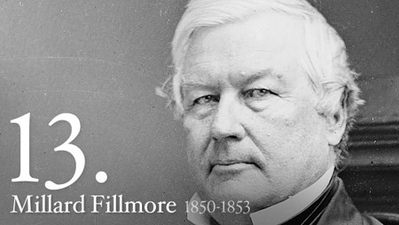 The last president that wasn't a Republican or Democrat was Millard Fillmore in 1853