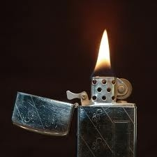 Lighters were invented before matches.