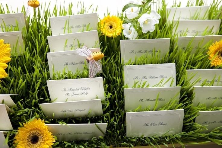 20 creative wedding seating cards for Trouwdecoratie zelf maken
