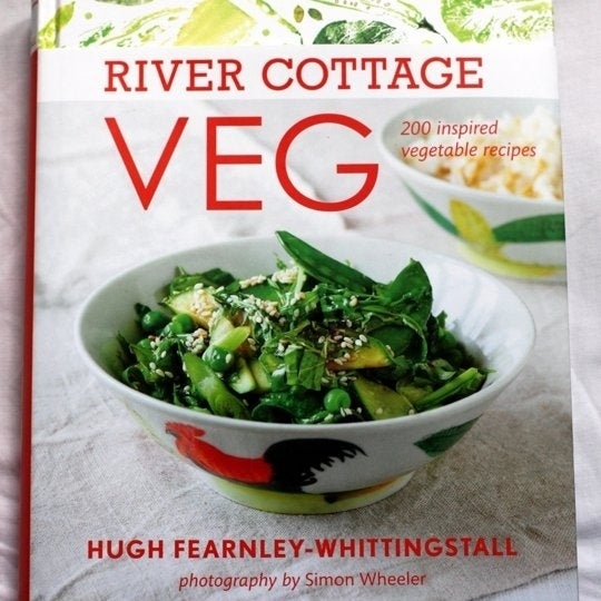 THE BOOK: River Cottage Veg: 200 Inspired Vegetable Recipes, 2013, by Hugh Fearnley-Whittingstall.