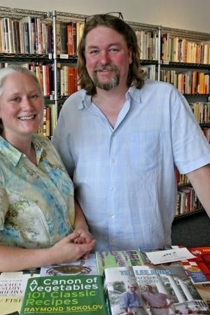 THE RECOMMENDER: Don is a co-owner (along with his wife Samantha, pictured here) of Maine's Rabelais bookstore and a rare cookbook collector.