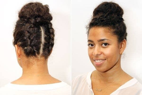 Awesome New Ways To Style Your Natural Hair - Diy natural hairstyle