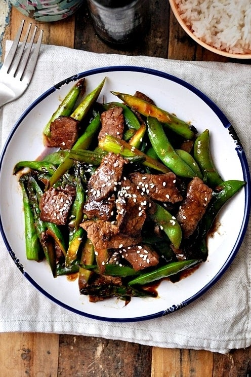 Stir-Fried Beef & Vegetables