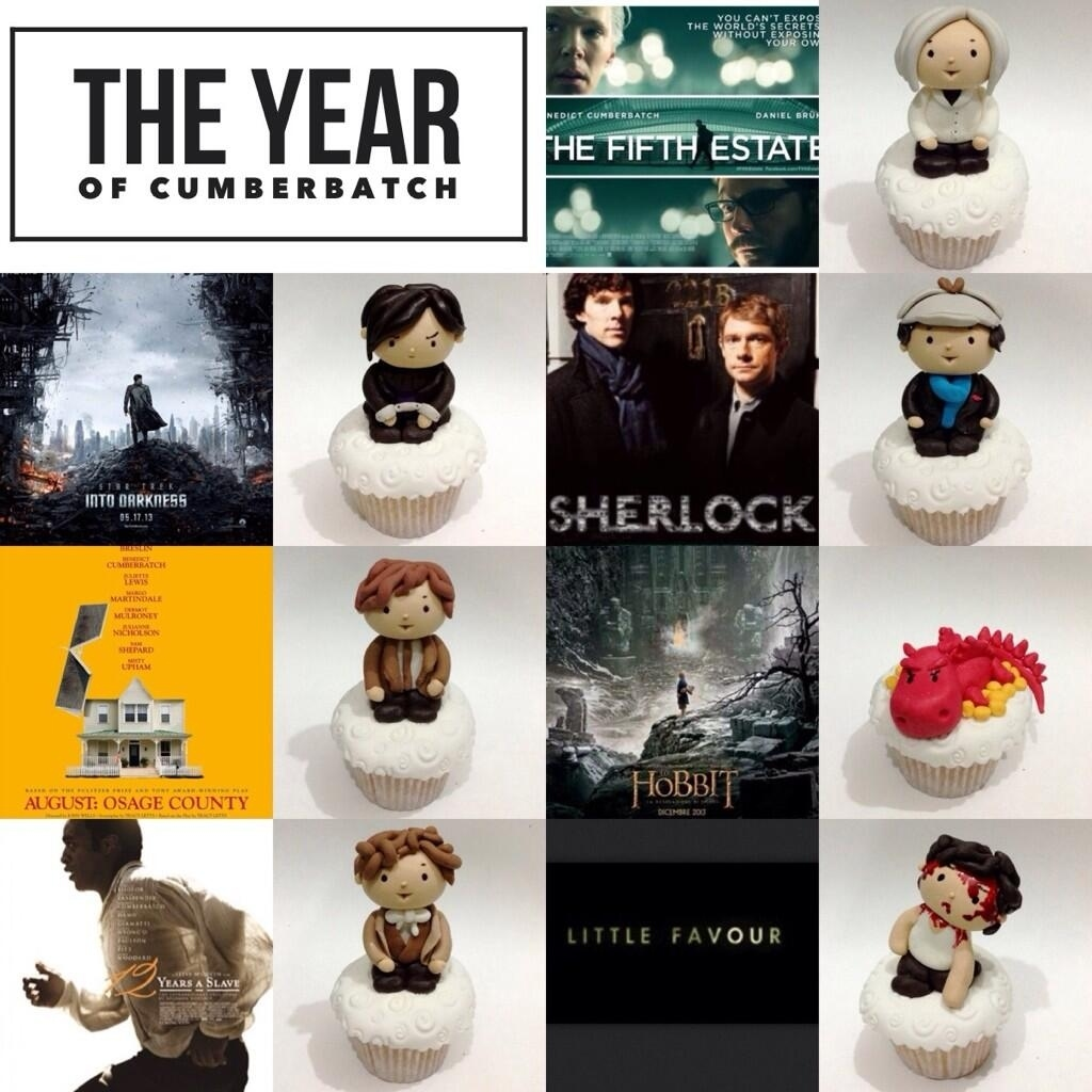 These Benedict Cumberbatch Cupcakes Will Ease The Pain Of Him Not Winning An Emmy