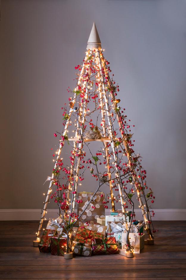 20 Alternative Christmas Tree Ideas