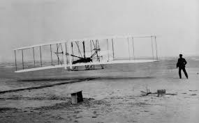 In 1903 the Wright brothers flew for 59 seconds. 38 years later the Japanese bombed Pearl Harbor. 28 years after that, we landed on the moon.