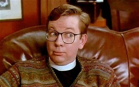 He harboured theatrical ambitions and was in 1995's A Feast At Midnight as the chaplain of a boarding school. Apparently most of his scenes ended up being cut, but you can see him in all his glory here.