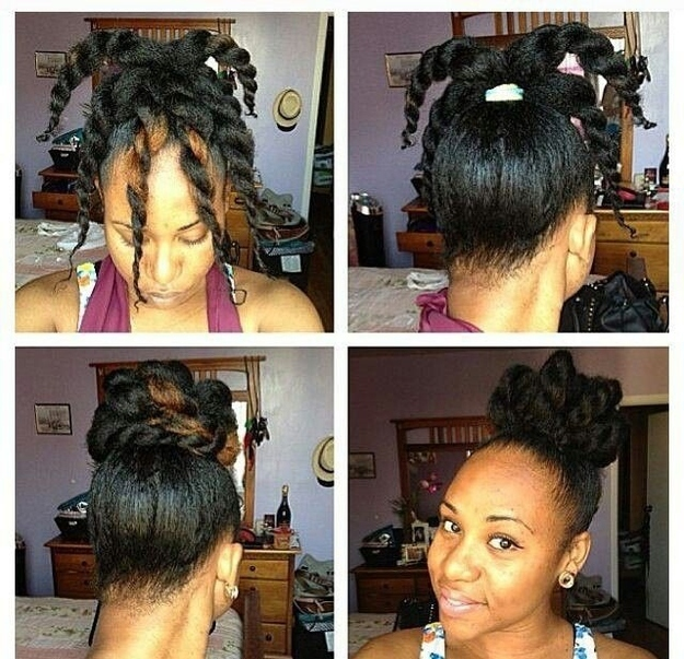 Beautiful 2. The Twisty Topknot