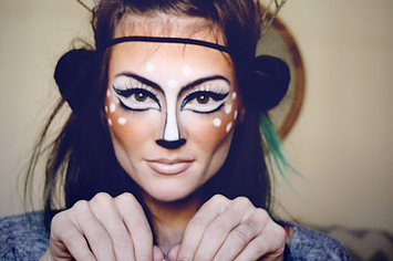 21 Easy Hair And Makeup Ideas For Halloween - Really Simple Halloween Makeup