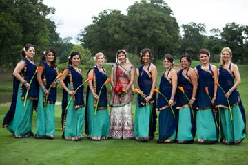 Sari Rental Market Takes Off As More Indian-American