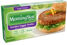 A veggie burger is probably a good alternative t to that pound of Five Guys you were about to take down. Pre-packaged ones from the grocery store can have 350 mg of sodium (About 15% of your daily value).