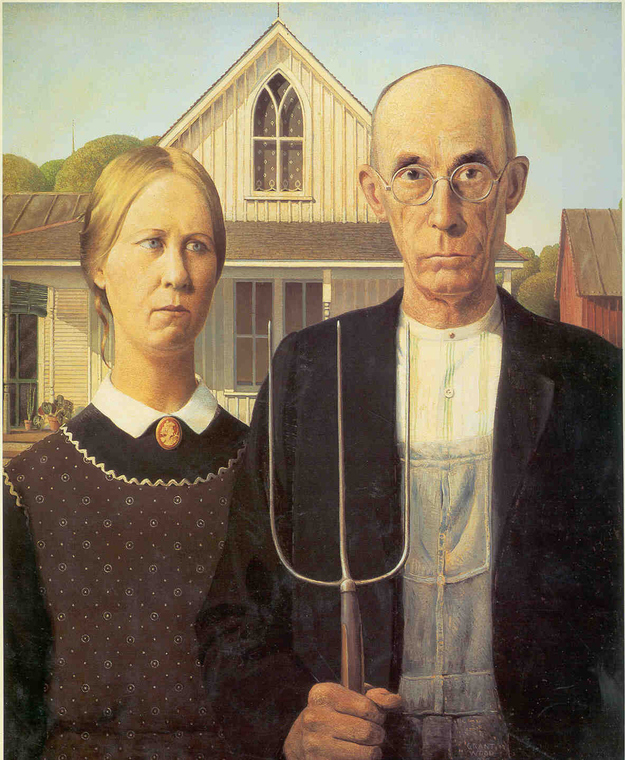 1. Grant Woodu0027s  American Gothic   sc 1 st  BuzzFeed & 17 Brilliant Art History-Inspired Halloween Costumes