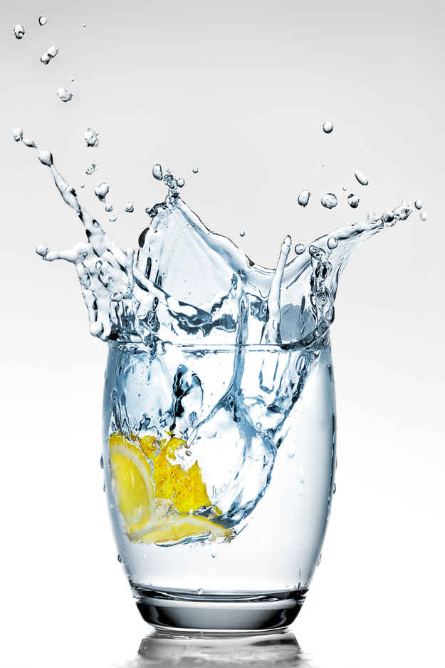 """""""Always drink a glass of water before eating."""""""