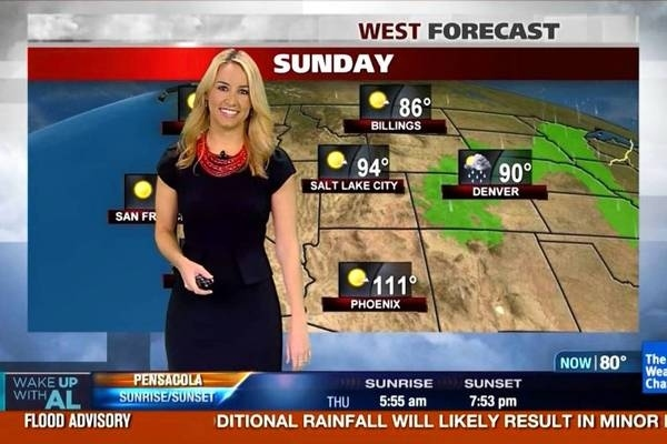 The 16 Best Looking Weather Channel Personalities Paired -5405