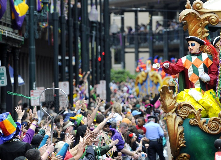 When: Tuesday before Ash Wednesday, March 4 (for 2014)Where: New OrleansWhy you should go: In many ways Mardis Gras' reputation precedes itself — if you want to party like there's no tomorrow, New Orleans is where you belong.