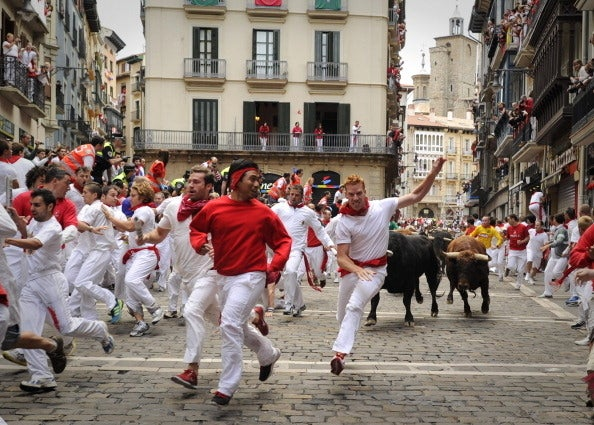 When: July 6–14Where: Pamplona, Spain Why you should go: Let's be real — who doesn't like watching people make fools of themselves? The Running of the Bulls is a time-honored Spanish tradition, which is such to raise your adrenaline levels, whether you're running or watching.