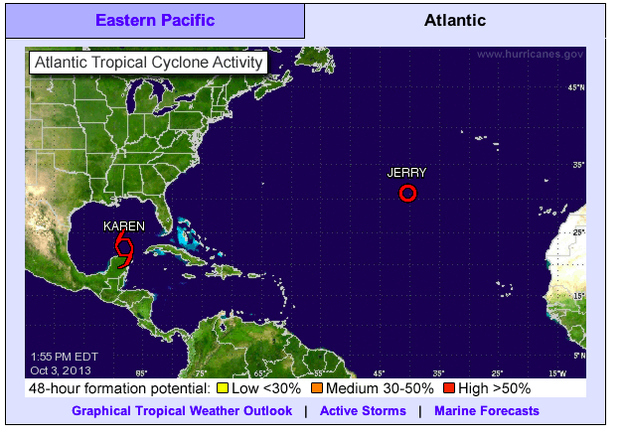 A Possible Hurricane Is Approaching The U.S. And The Government Agency That Warns Us Is Shut Down