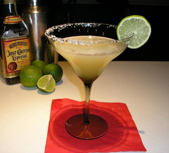 Margaritas were first mentioned in My New Cocktail Book (1930) by G. F. Steele.