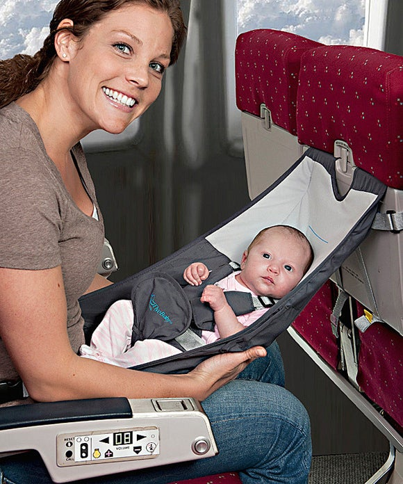 The only way flying could be more enjoyable is if you left the baby at home.