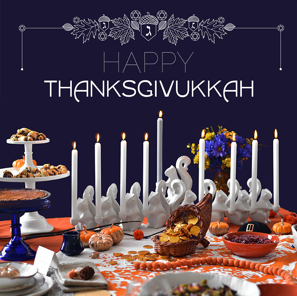 How To Celebrate Thanksgivukkah, The Best Holiday Of All Time