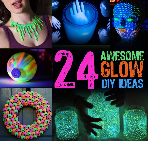 24 awesome glow diy ideas share on facebook share solutioingenieria Gallery