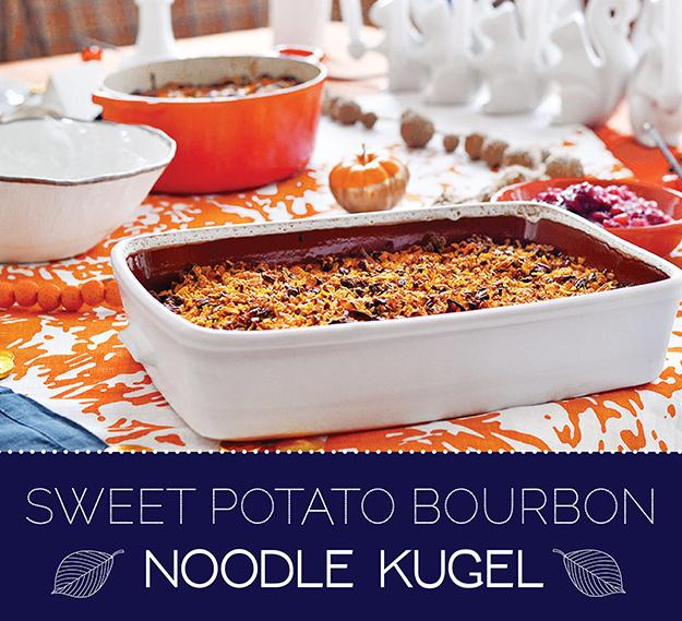 How To Make Sweet Potato Bourbon Noodle Kugel For ...