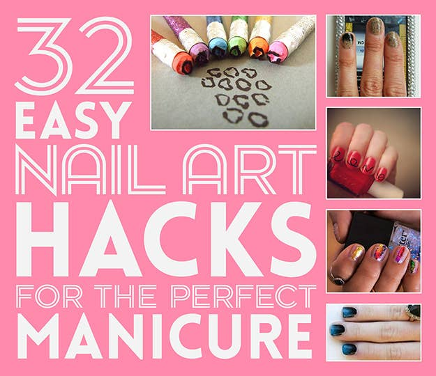 32 easy nail art hacks for the perfect manicure share on facebook share solutioingenieria Image collections