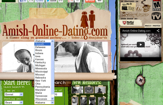Online dating sites specific information