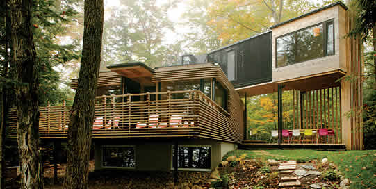 5. This is the woodland cottage of your dreams. & 23 Surprisingly Gorgeous Homes Made From Shipping Containers