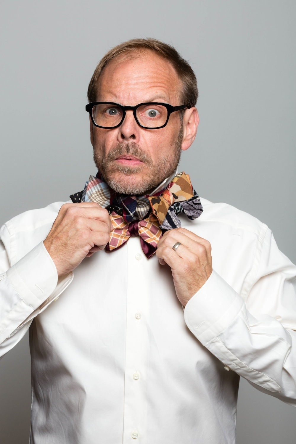 Alton Brown Has His Own Line Of Bow Ties Now