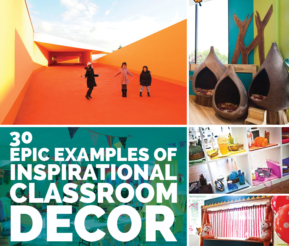 Classroom Decoration Ideas Questions : Epic examples of inspirational classroom decor