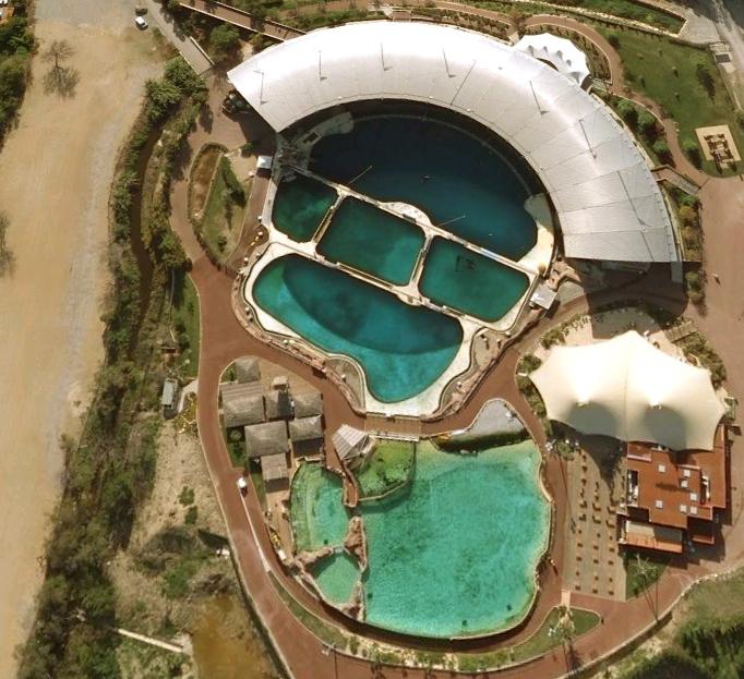 Satellite Images Of Killer Whale Tanks