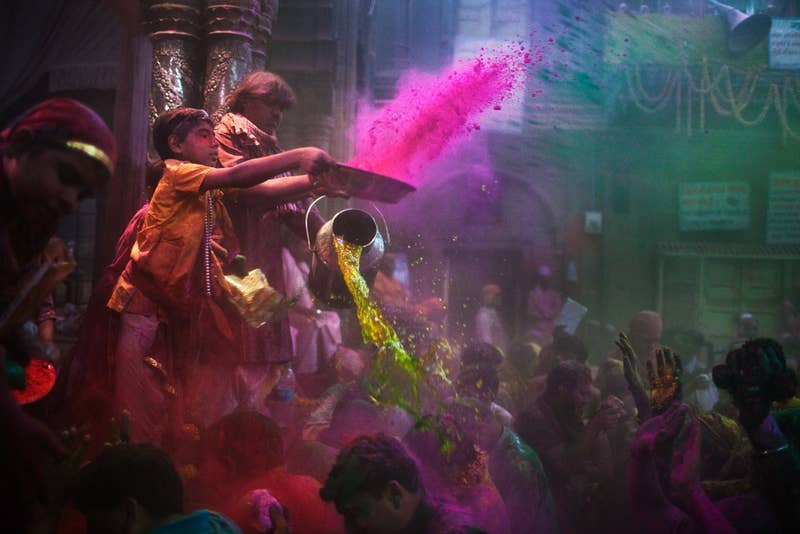 When: March 27 (for 2014) Where: India, Nepal, Sri Lanka, and other Hindu regionsWhy you should go: Holi, also known as the Festival of Colors, celebrates the end of winter and the beginning of spring. It's fun, safe, and free. Just remember to BYOD (bring your own dye).