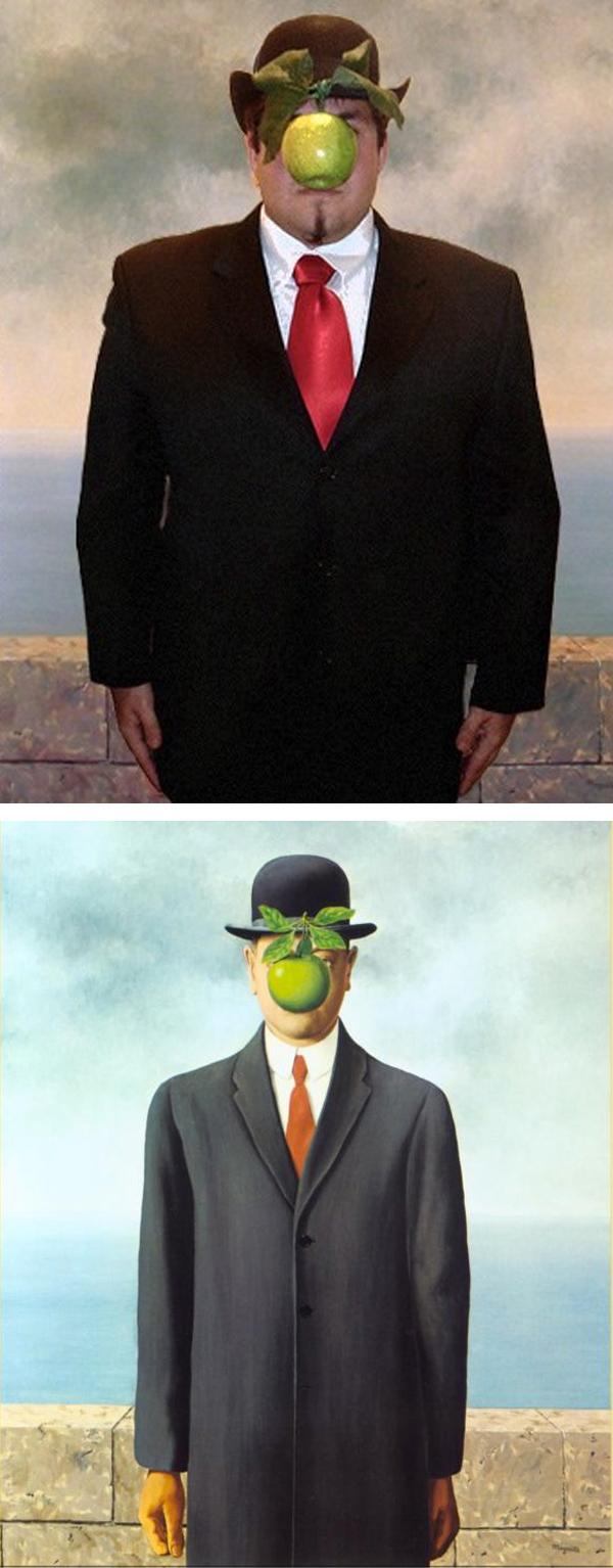 rene magritte son of man