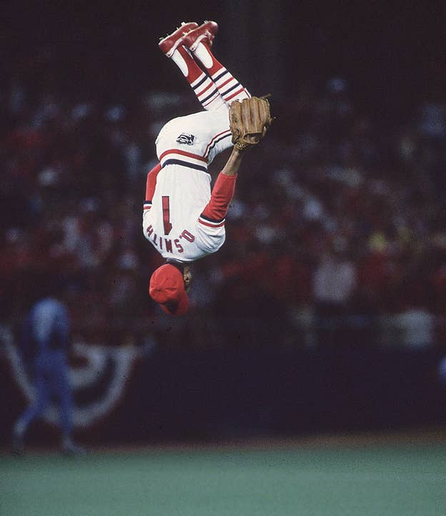 The Wizard of Oz executed backflips in other decades, but his acrobatics officially arrived on the national stage during the 80s. Luckily for fans, Ozzie's sweet signature entrance was a prelude to the poetry of his glove work. If you're wondering if Ozzie still does backflips, the question has been asked via Twitter.