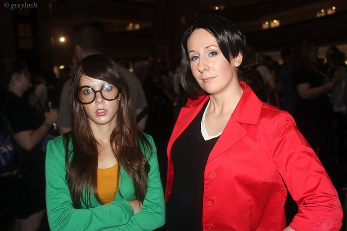 Don't lie. You know you wanted to be friends with Daria and Jane. It was your dream to watch Sick Sad World with them.