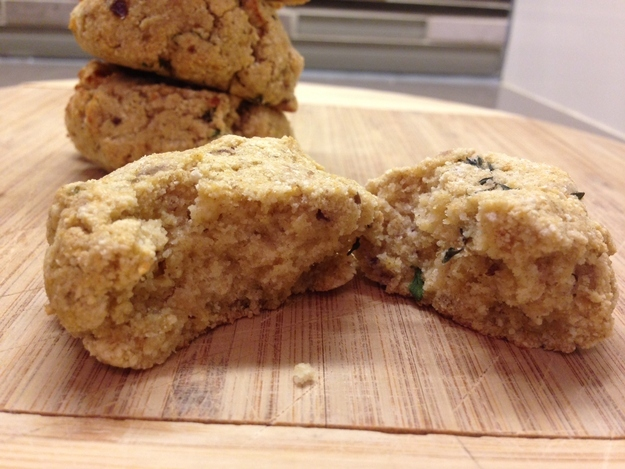 6. Got time for roasted cantaloupe lemon and thyme cookies?