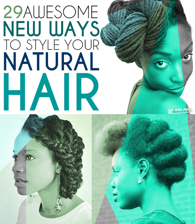 Cool 29 Awesome New Ways To Style Your Natural Hair Short Hairstyles Gunalazisus