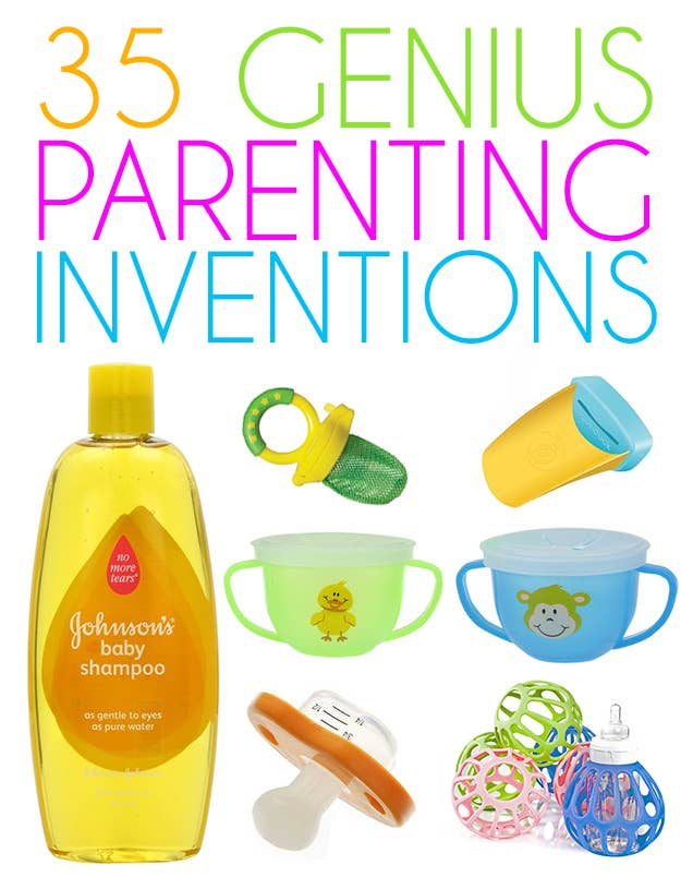 Genius Parenting Inventions - 24 brilliant inventions every lazy person will love