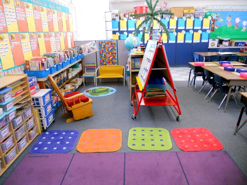 Classroom decoration ideas for primary school www for Classroom mural ideas