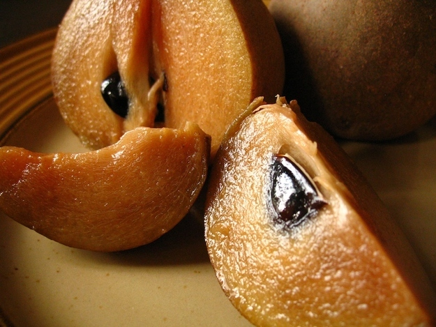 Sapodilla, sometimes known as Chico Fruit