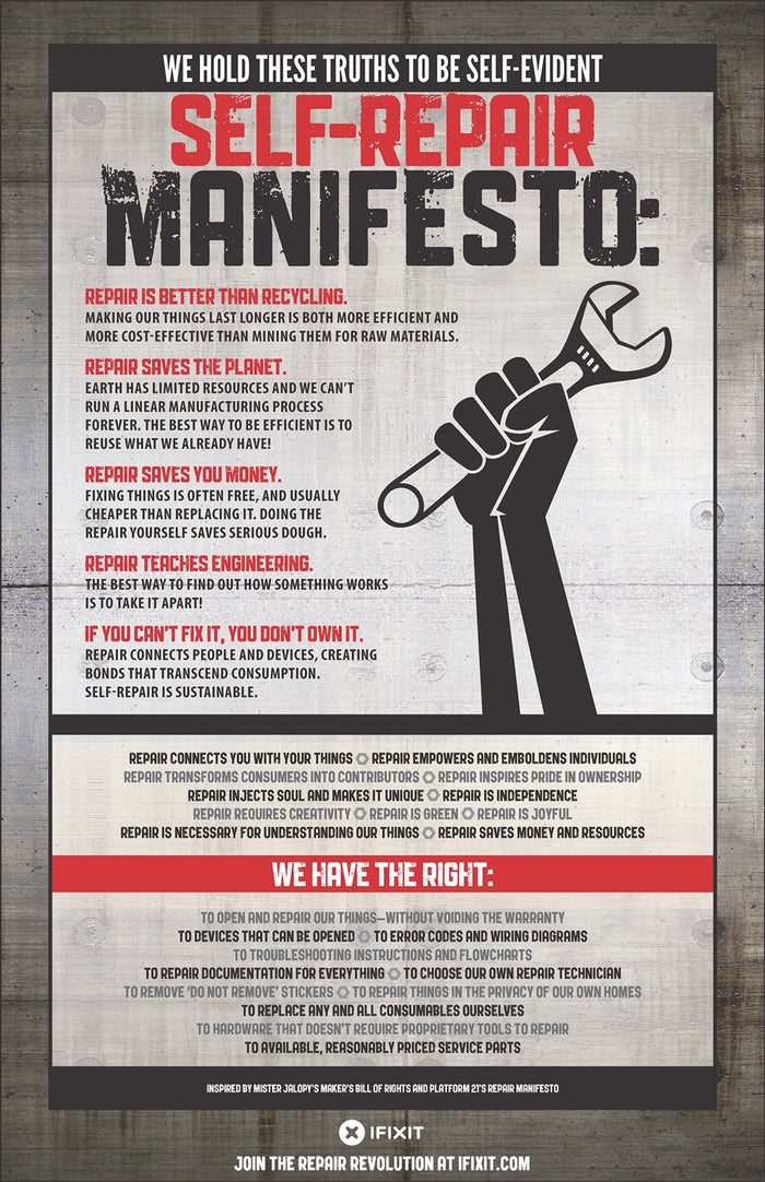 A DIY manifesto for anyone who's ever been struck by the absurdity that it's now cheaper to buy a new toaster than repair your old one. Save the planet one wrench and bolt at a time.