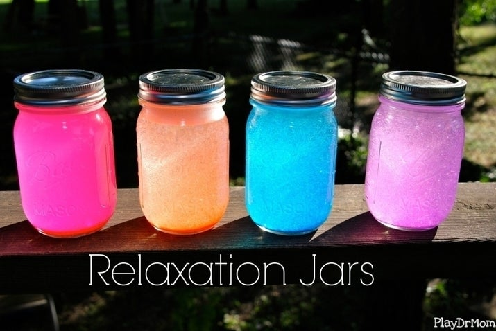 """Youngsters can relax and get crafty with their own """"chill"""" mechanism. Because kids work so hard, you know? Click here for the tutorial."""