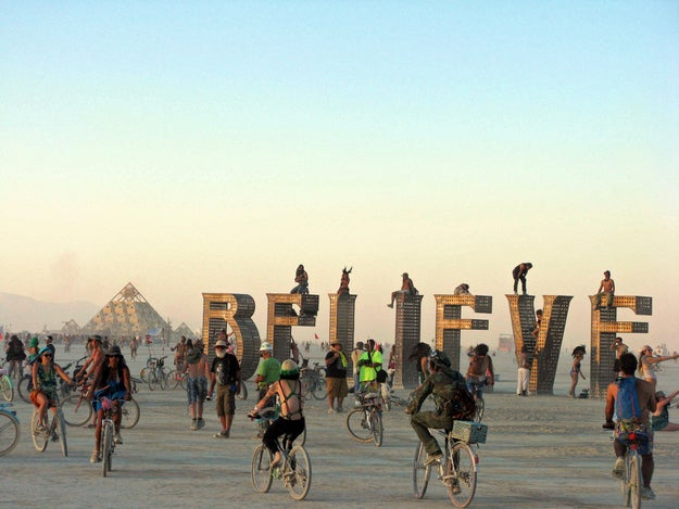 When: Aug. 25–Sept. 1 (for 2014) Where: Black Rock City, Nev.Why you should go: Burning Man is where humans go to shed themselves of the conventions of society. If you want a break from the ordinary and can actually party 24/7, then head to the deserts of Nevada.