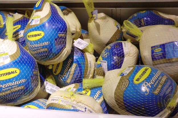 You don't realize that many turkeys are pre-brined.